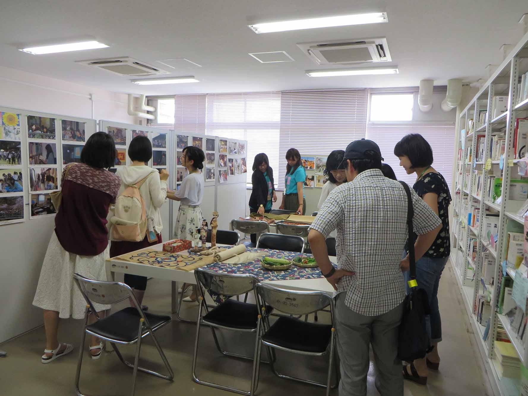 学科資料室の開放